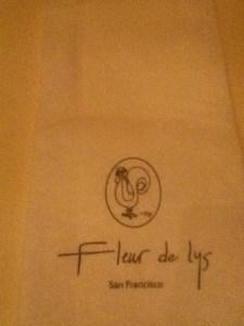 Beautiful napkin