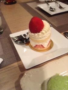 Beautiful dessert! Creamy, fatty goodness!