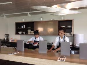 Dessert Bar, you can watch them make your dssert!