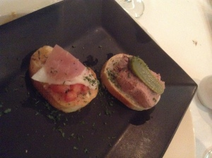 Duo of Amuse Bouche