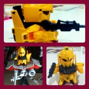 My Yellow SD Gundam