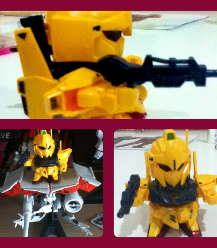 My Yellow SD Gundam