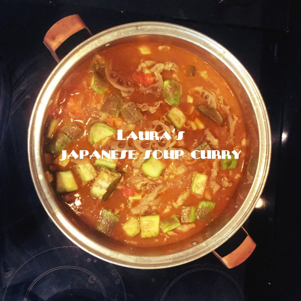 Homemade Japanese Soup Curry